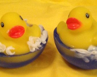 Homemade Rubber Ducky Soap