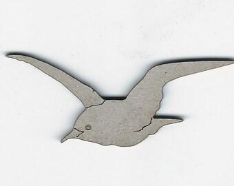 Chipboard laser cut albatross