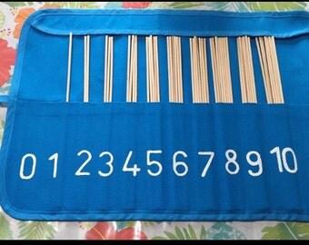 Montessori spindle bag