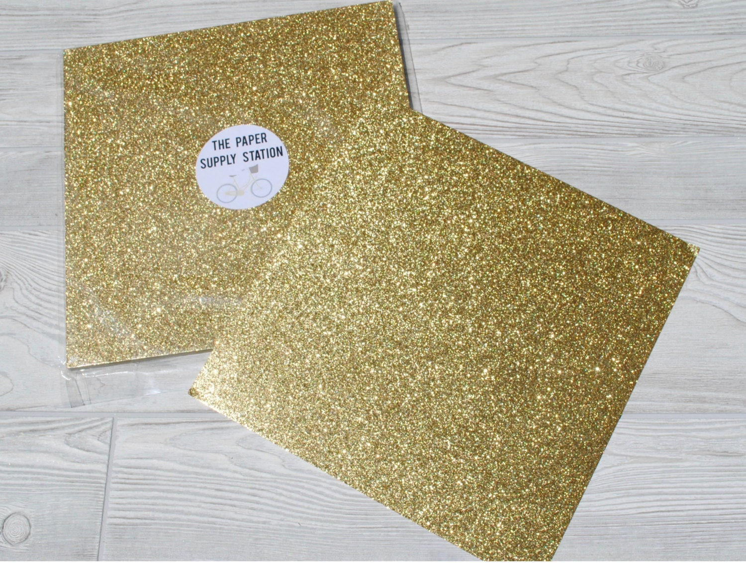 Gold color cardstock paper 5x7 -  Zoom