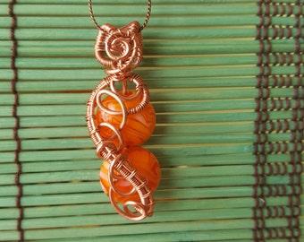 2 tier-Orange