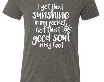 I've got that Sunshine in my pocket/Todder/Youth/Adult/tee shirt/TROLLS//gift ideas//kids shirts//chatterboxx//just dance//dancing tees