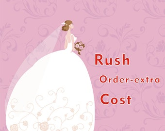 Rush Order-extra cost