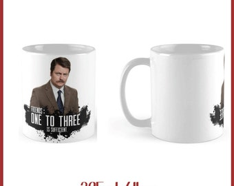 Parks and recreaion Ron swanson   325ml Mug