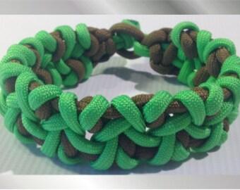 Zombie Green Paracord Bracelet