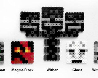 Minecraft Inspired Nether Cupcake Topper Set