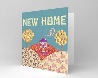 Greetings Card Birthday Gift New Home Pattern Craft CS1867