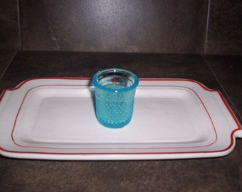 Vintage Jigger Glass Just A Thimble Full Shot Glass