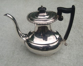 Coffee Pot - Silver Plated/EPNS A1 - Vintage Silverplate