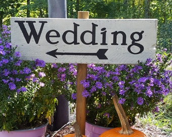 Barn Wedding, Rustic Wedding, Barn Wedding Decor, Wedding, Wedding Stake Sign, Wedding Decor, Country Wedding, Country Wedding Decor