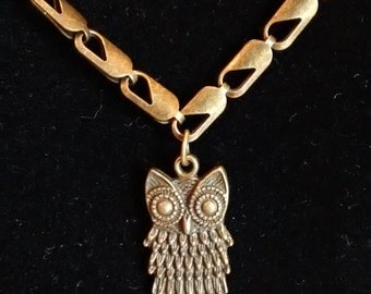 Wise Owl Necklace