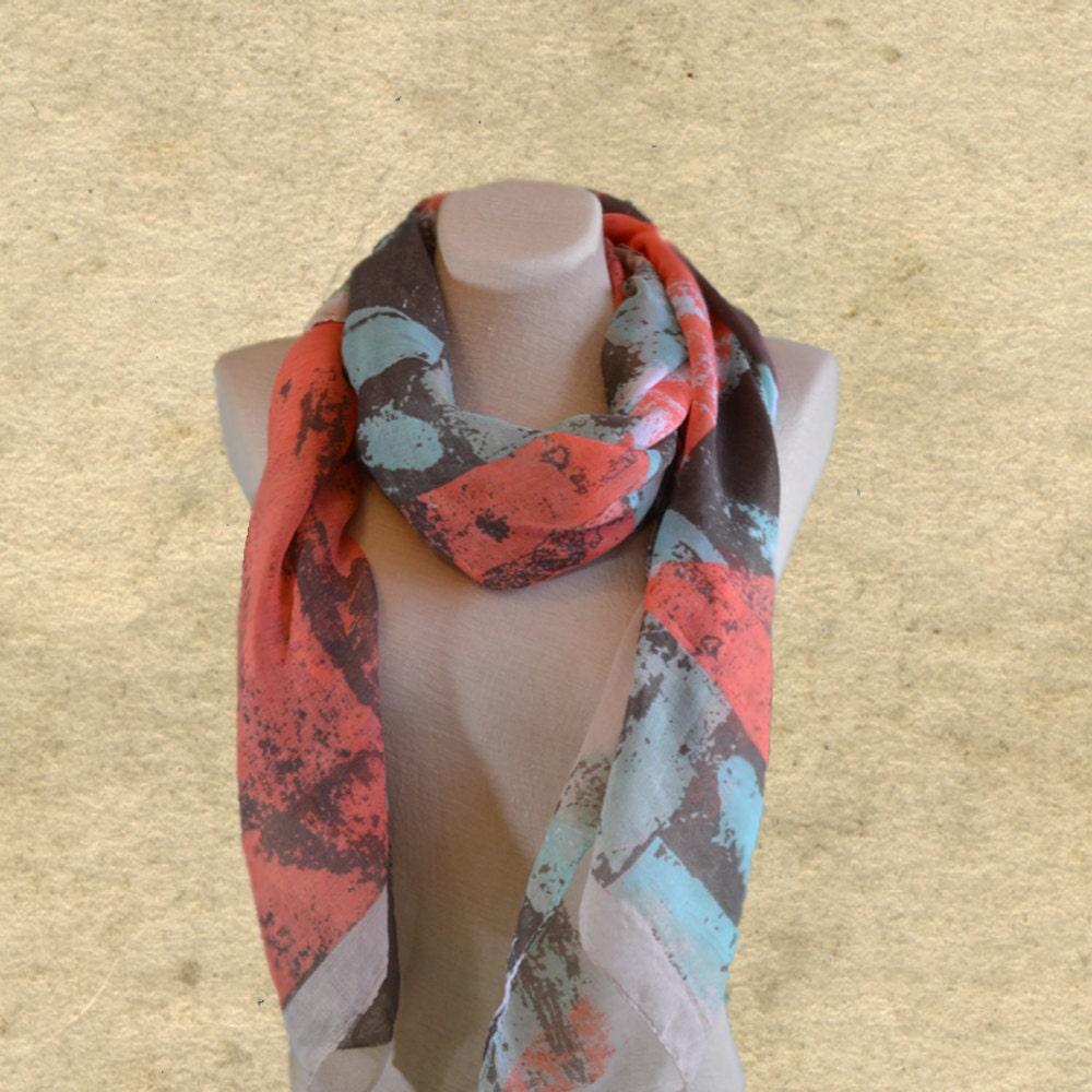 womens fabric scarf boho scarf bohemian clothing