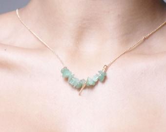 Necklace / necklace Semi capricious!  set with semi precious stones... necklace