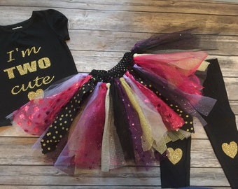 Sparkling pretty princess tutu for your little princess!!!/birthday outfit/3 piece set with pants