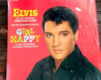 Elvis Presley Girl Happy | Elvis Vinyl Record 1965 | Girl Happy Soundtrack Album