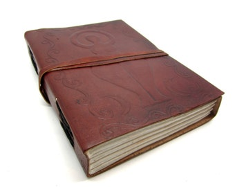 Leather Pregnancy Journal/Diary/Notebook, Planning, Well Being, New Mum Gift