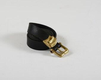 Handmade belt with forged brass : 4MSMD