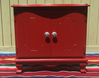 Hand Painted Nightstand / End Table