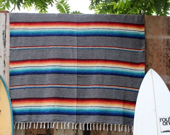 Mexicana Blanket in Grey