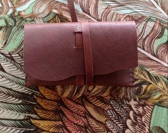 Leather Tarot Pouch, Kangaroo Hide
