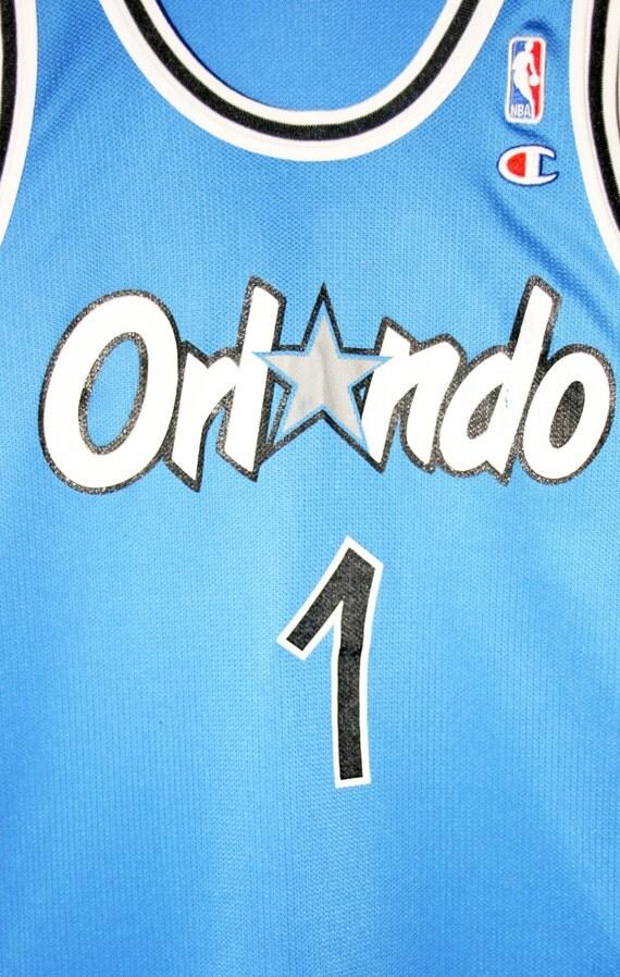 1a28164e9 best Vintage champion NBA basketball Orlando Magic by allbigeverything