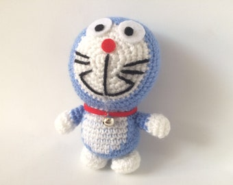 Crochet Doraemon Amigurumi : Doraemon dolls etsy