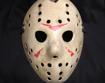 Custom Friday The 13th Hockey Mask - 007
