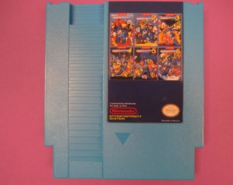 Mega Man Remix 6 in 1 Nintendo NES Classic Game - Complete Series, 73 Games in all!