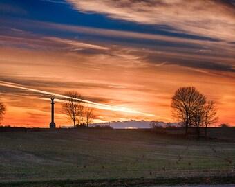 Falling Light - Antietam National Battlefield