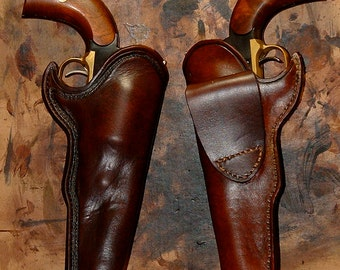 Custom Made To Order Mexican Loop Holster For 1911 Leather