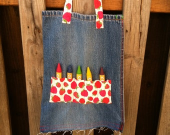 Kid's Busy Bag Tote