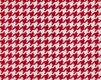 Michael Miller Tiny Houndstooth Rouge