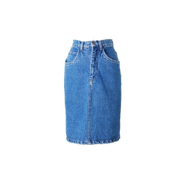 vintage true 90 s denim skirt 90s clothing 90 s by