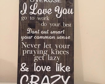 Love Like Crazy Song Lyrics Sign