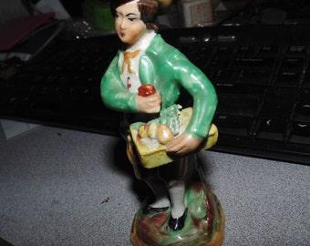 vintage staffordshire figurine great color