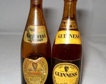 Minature Guinness Bottles