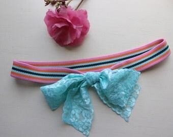 Old Lady Baby 'Rainbow Sprinkle' Headband