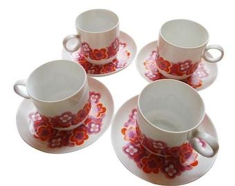 Rosenthal Small Vintage Flower Tea Cup (SET)