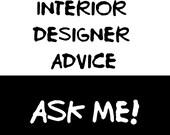 Interior design etsy for Interior design consultation services