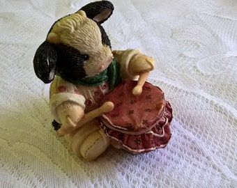 vintage mary 's moos little drummer boy figurine