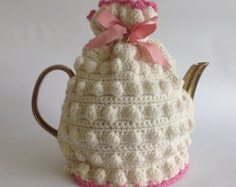 Little Miss Prim Tea Cosy - Ivory