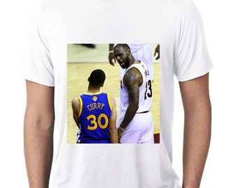 Lebron James > Steph Curry T-Shirt