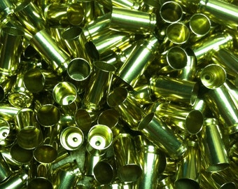 9mm Brass Once Fired 1000+3% Polished