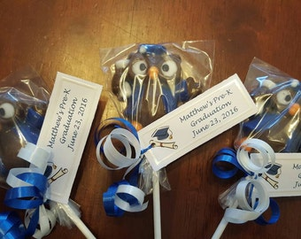 Graduation Chocolate Lollipops
