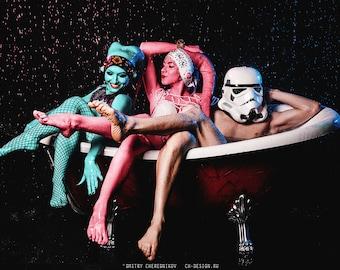 Twi'leks in bath — Cosplay Photo Print 20x15cm Choose one