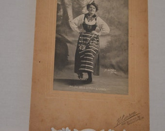 Vintage Photography Woman Dancing