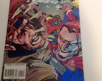 Marvel Comics Bishop Issue #4 1994