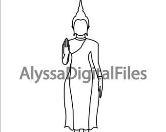 Buddha Pose - Monday - Southeast Asia