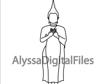 Buddha Pose - Friday - Southeast Asia