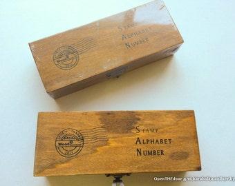 Stamp Alphabet Number